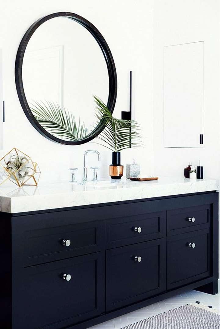 Christopher Patey Photographer - kylpyhuone pyöreällä peilillä